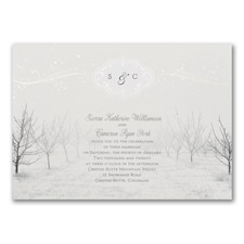 Winter Wonderland - Invitation