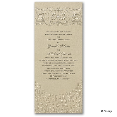 Flowing Artistry - Invitation - Rapunzel