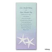 Mermaid Treasures - Ariel - Invitation