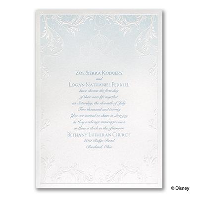 Classic Charm - Cinderella - Invitation