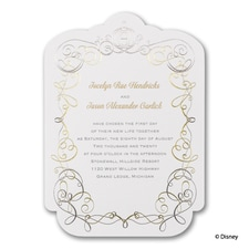 Enchanted - Cinderella - Invitation