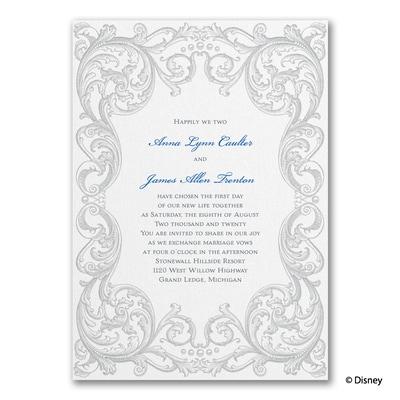 Vintage Fairy Tale - Cinderella - Invitation