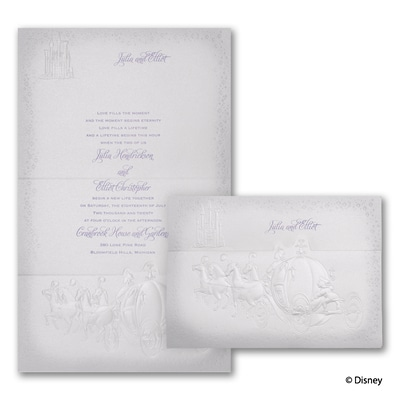 Destined for Love - Cinderella - Invitation