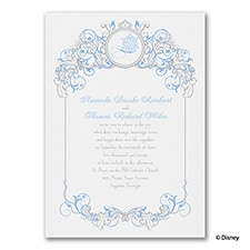 Fairy Tale Filigree - Elsa - Invitation