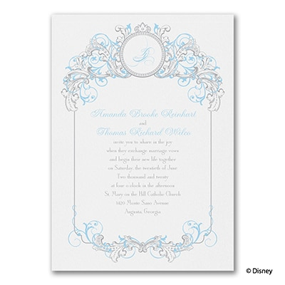 Fairy Tale Filigree - Cinderella - Invitation