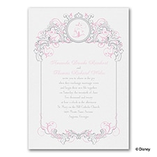 Fairy Tale Filigree - Aurora - Invitation