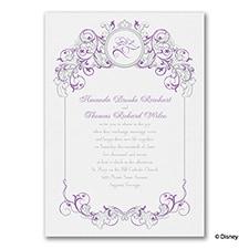 Fairy Tale Filigree - Rapunzel - Invitation