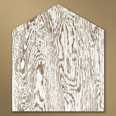 Woodsy Monogram Envelope Liner
