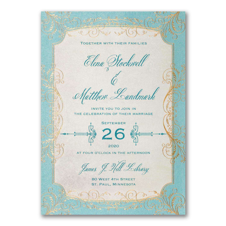 Whimsical Vines - Invitation > Wedding Invitations   Carlson Craft ...