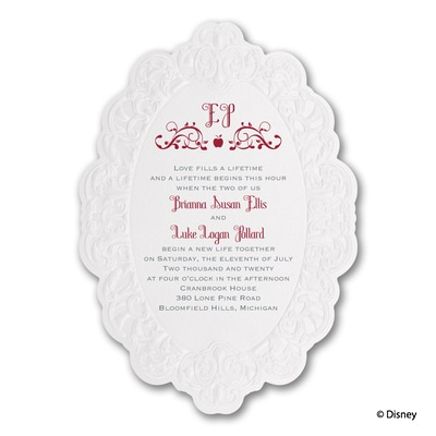 Mirror, Mirror - Snow White - Invitation