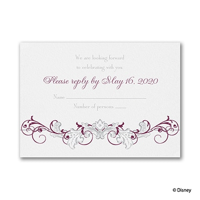 Fairy Tale Filigree - Response Card and Envelope