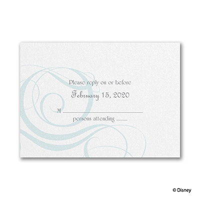 Fairy Tale Fantasy - Response Card and Envelope