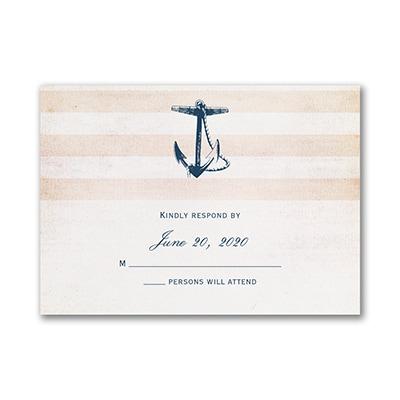 Destination Love - Response Card and Envelope