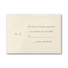 Nature of Love - Response Card and Envelope