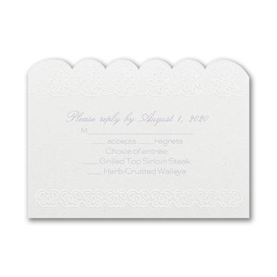 Flower Fantasy - Response Card and Envelope