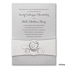 Fairy Tale Carriage - Disney Inspired - Invitation