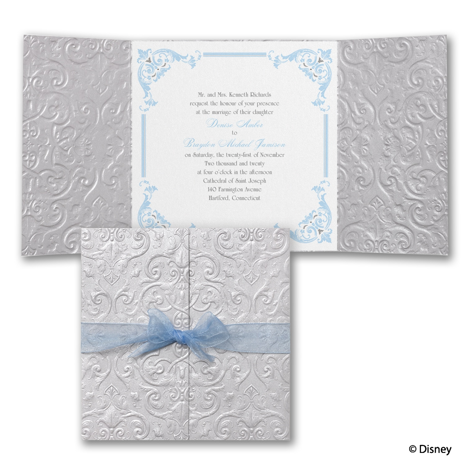 Happily Ever After - Cinderella - Invitation > Disney Fairy Tale ...