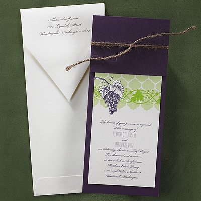 Glorious Grapevine Invitation