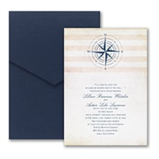 Destination Love - Wedding Invitation