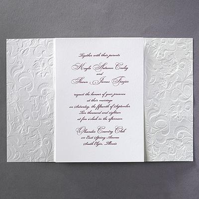 Lacy Opulence - Invitation