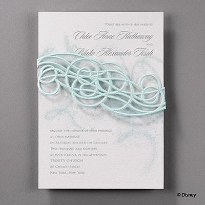 Icy Swirls - Invitation - Elsa