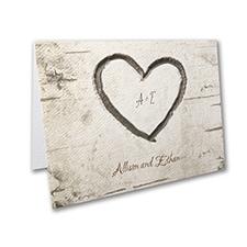 Woodsy Monogram - Note Folder
