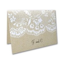 Homespun Bridal - Note Folder