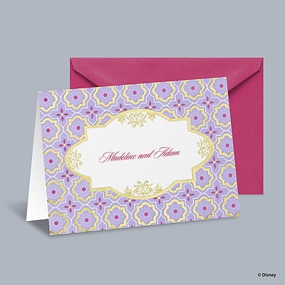 Exotic Romance - Jasmine Note Card and Envelope