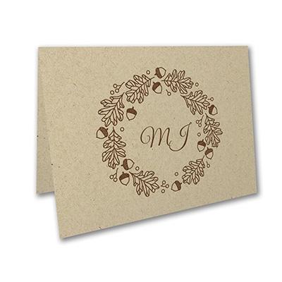 Acorn Wreath - Note Folder