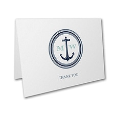 Nautical Romance - Note Folder
