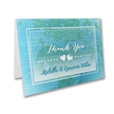 World of Heart - Thank You Card and Envelope