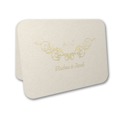 Charming Flourishes - Thank You Card and Envelope
