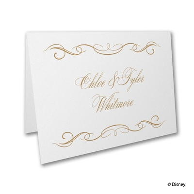 Magic Spell - Belle - Thank You Card and Envelope