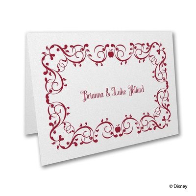 Mirror, Mirror - Snow White - Thank You Card and Envelope