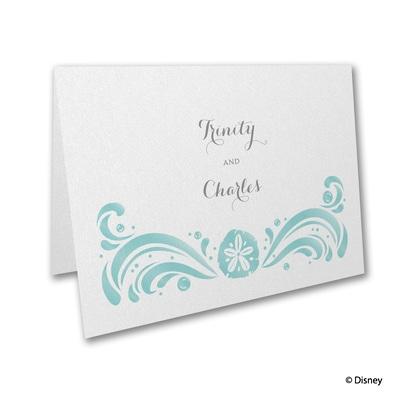 Ocean Wonders - Ariel - Thank You Card and Envelope