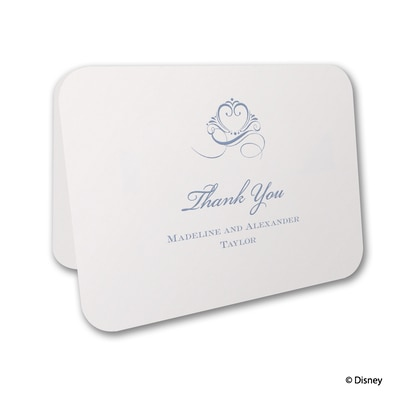 Choose Your Princess - Thank You Card and Envelope
