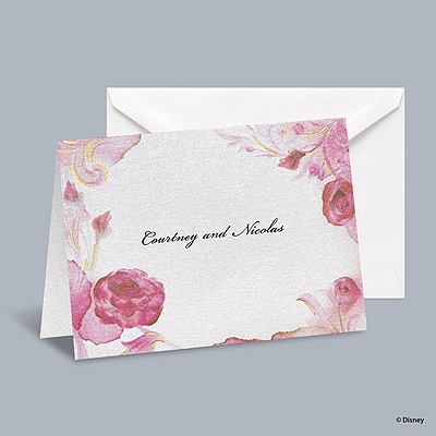 Briar Rose - Aurora Informal Note with Verse and Envelope