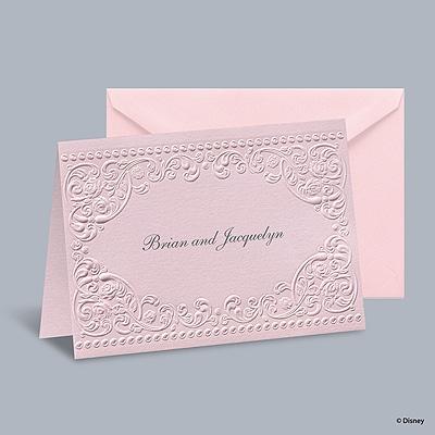 Princess Dreams - Aurora Informal Note with Verse and Envelope