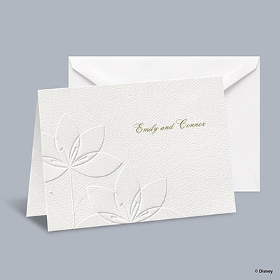 Deco Lilies - Tiana Informal Note with Verse and Envelope