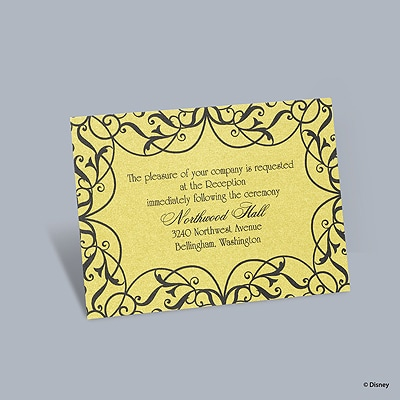 Love's Transformation - Belle Reception Card