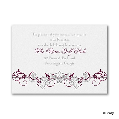 Fairy Tale Filigree - Reception Card