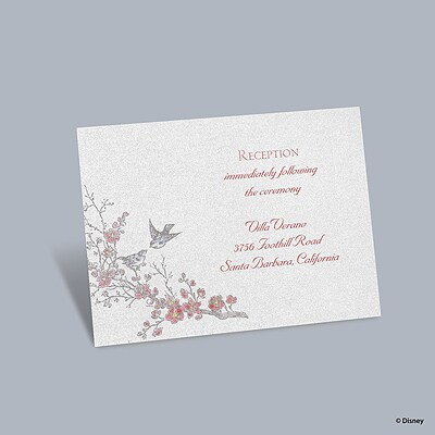 The Fairest - Snow White Reception Card