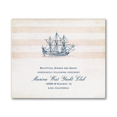 Destination Love - Reception Card