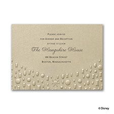 Flowing Artistry - Rapunzel - Reception Card