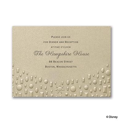 Flowing Artistry - Rapunzel - Reception Card