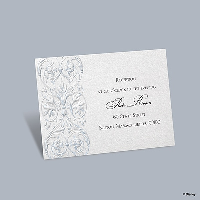 Once Upon a Time - Cinderella Reception Card