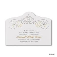 Enchanted - Cinderella - Reception Card