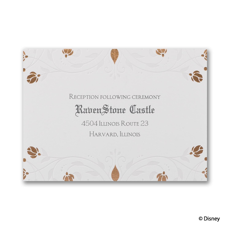 Roses and Romance - Sleeping Beauty - Invitation > Disney Fairy Tale ...