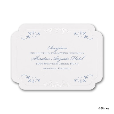 Choose Your Princess - Reception Card