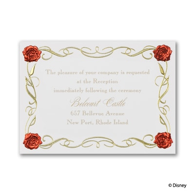 Magic Spell - Belle - Reception Card